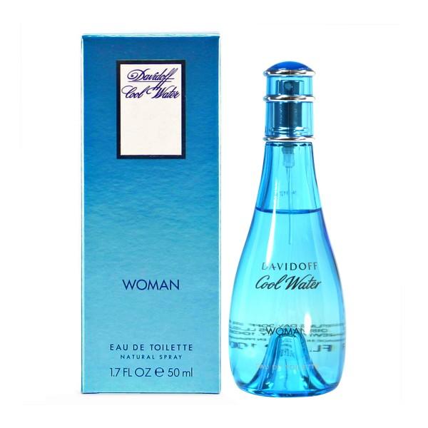 Davidoff cool water eau de toilette woman 50ml vaporizador