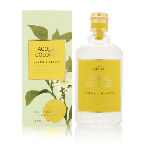 4711 acqua colonia eau de cologne lemon & ginger 170ml vaporizador