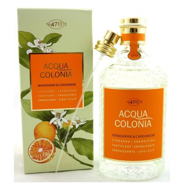 4711 acqua colonia eau de cologne mandarine & cardamom 170ml vaporizador