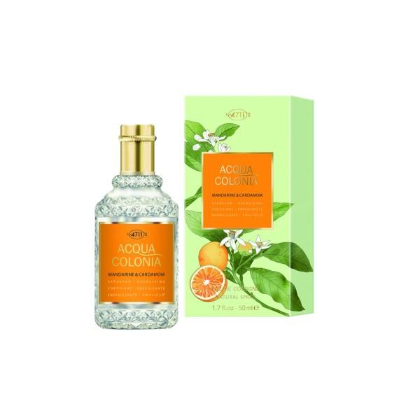 4711 acqua colonia eau de cologne mandarine & cardamom 50ml vaporizador