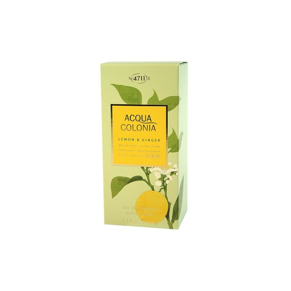 4711 acqua colonia eau de cologne lemon & ginger 50ml vaporizador