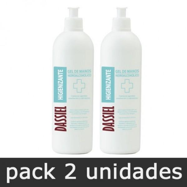Gel de Manos Hidroalcohólico - Pack 2 botes 500ml dosificador