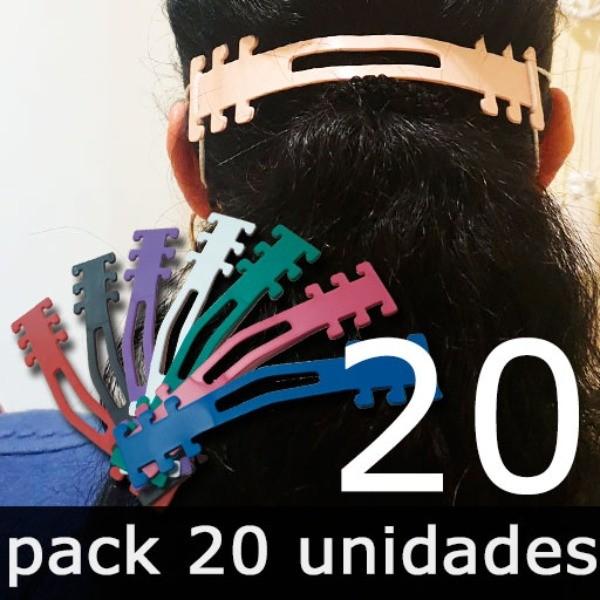 Salvaorejas para Mascarillas - Pack 20 unidades